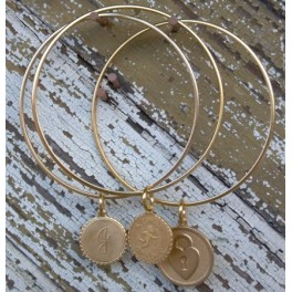 Charm Bangle - Three piece set