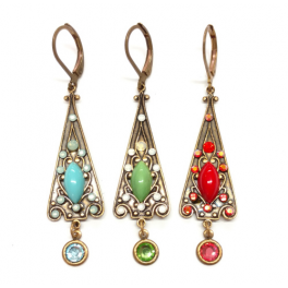 Night in Morocco Drop Earings